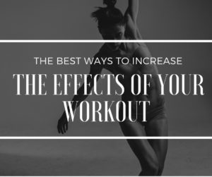 maximize your workouts