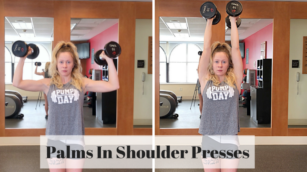 dumbbell shoulder